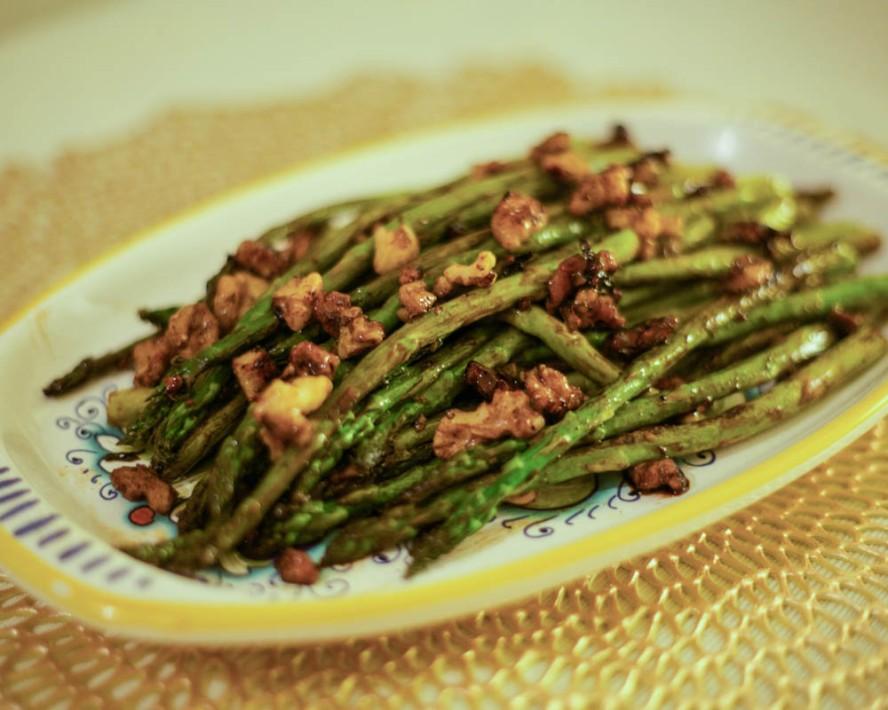 Balsamic WalnutAsparagus