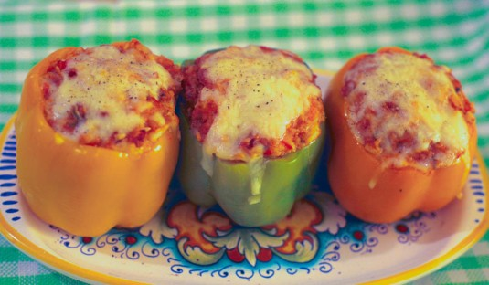 Stuffed Peppers Image